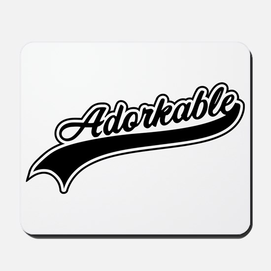 Funny Adorkable Mousepad
