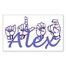 Alex Rectangle Decal