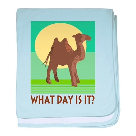 Hump Day baby blanket