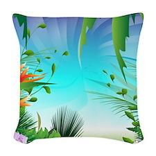 Summer Design, Woven Throw Pillow