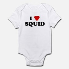 I Love SQUID Infant Bodysuit