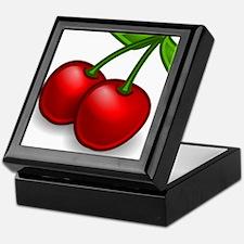 Two Cherries Keepsake Box