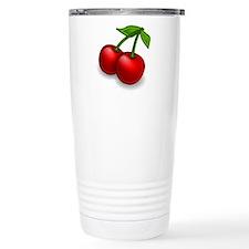 Two Cherries Travel Mug
