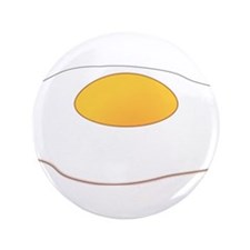 """Fried Egg 3.5"""" Button"""