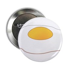 "Fried Egg 2.25"" Button (10 pack)"