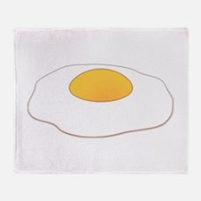 Fried Egg Throw Blanket