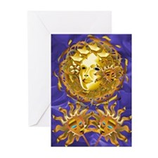 Carnevale Medusa Greeting Cards (Pk of 10)