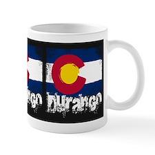 Durango Grunge Flag Small Mug