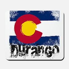 Durango Grunge Flag Mousepad