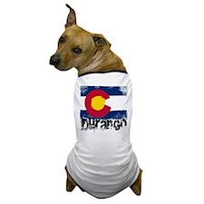 Durango Grunge Flag Dog T-Shirt