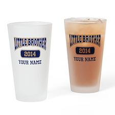 Custom Little Brother Drinking Glass