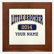 Custom Little Brother Framed Tile