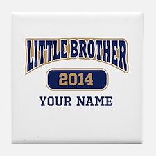 Custom Little Brother Tile Coaster