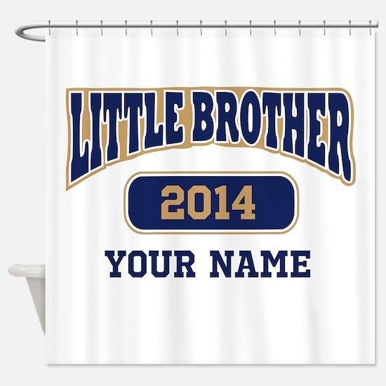 Custom Little Brother Shower Curtain