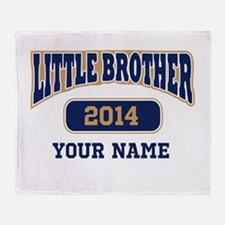 Custom Little Brother Throw Blanket