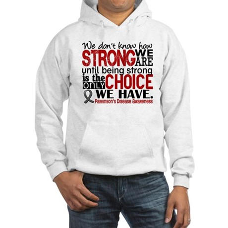 How Strong We Are Parkinson's Hooded Sweatshirt
