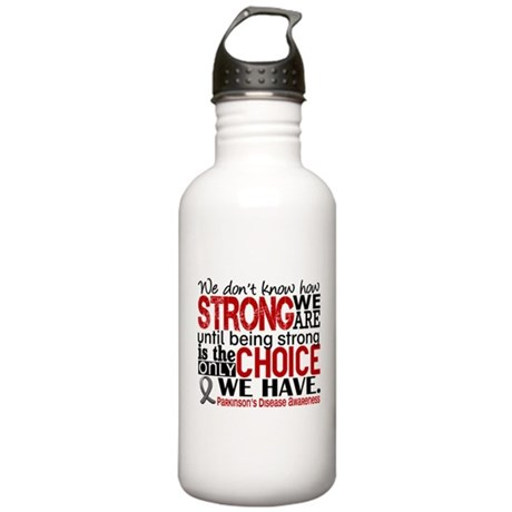 How Strong We Are Parkinson's Stainless Water Bott