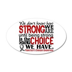 How Strong We Are Parkinson's Wall Decal