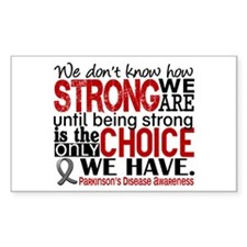 How Strong We Are Parkinson's Decal