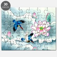 Birds and Floral Puzzle