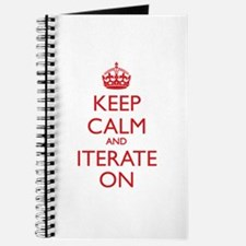 KEEP CALM and ITERATE ON Journal