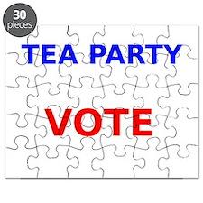 Tea Party Vote Puzzle