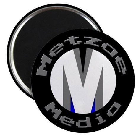 """MetzaeMedia.com 2.25"""" Magnet (10 pack)"""