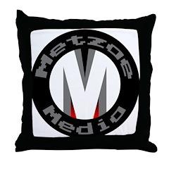 MetzaeMedia.com Throw Pillow
