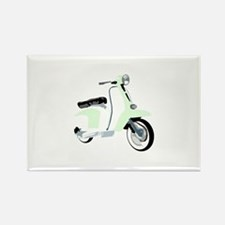 Mod Scooter Rectangle Magnet