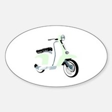 Mod Scooter Oval Decal