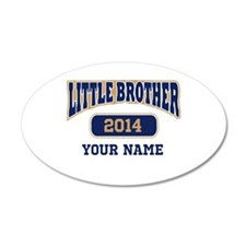 Custom Little Brother Wall Decal