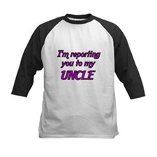 Im reporting you to my UNCLE Baseball Jersey
