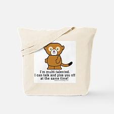 Multi-Talented Monkey Tote Bag
