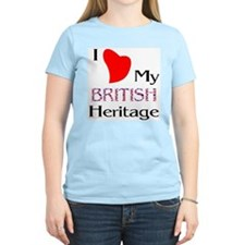 British Heritage Women's Pink T-Shirt