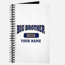 Personalized Big Brother Journal