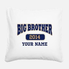Personalized Big Brother Square Canvas Pillow