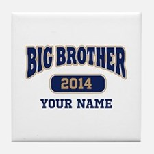 Personalized Big Brother Tile Coaster