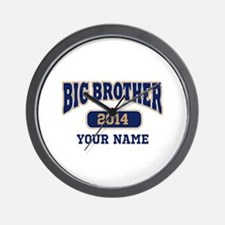 Personalized Big Brother Wall Clock
