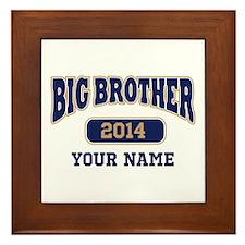 Personalized Big Brother Framed Tile