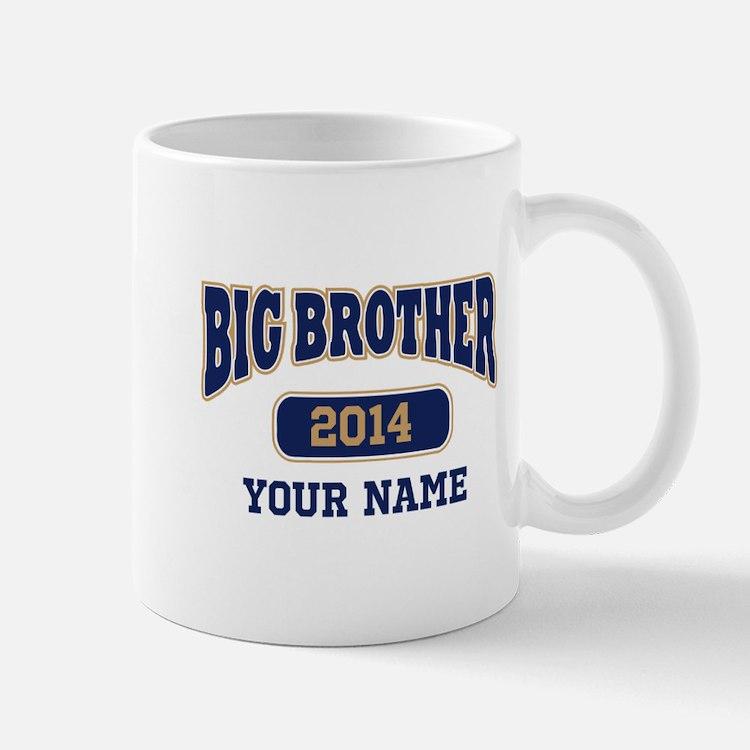 Personalized Big Brother Mug