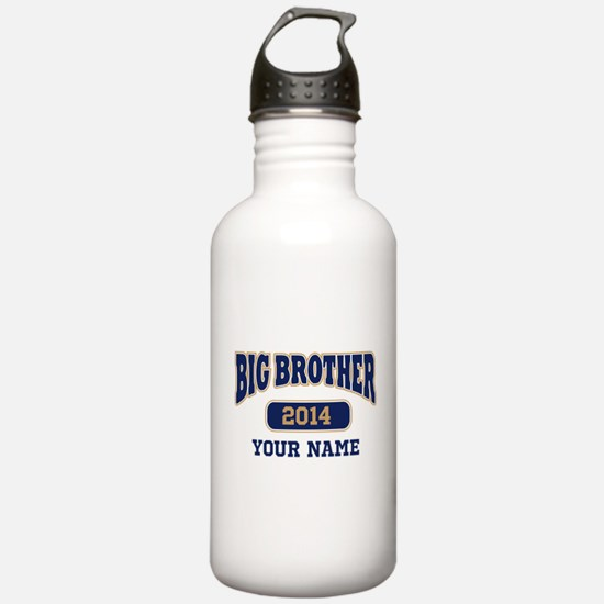 Personalized Big Brother Sports Water Bottle