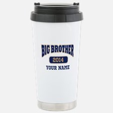 Personalized Big Brother Stainless Steel Travel Mu