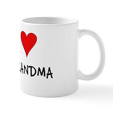"""I love Grandma"" coffee cup"
