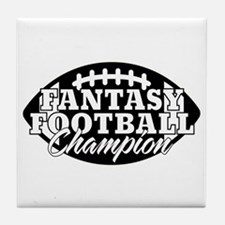 Personalized Fantasy Football Tile Coaster