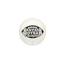 Personalized Fantasy Football Mini Button (10 pack