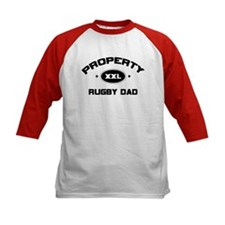 Property of Rugby Dad Tee