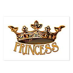 PRINCESS Crown Postcards (Package of 8)