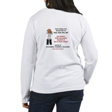 Women's One Size Vaccine, Autism Long Sleeve T