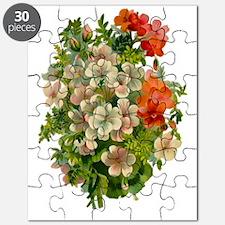 Beautiful Floral Motif Puzzle