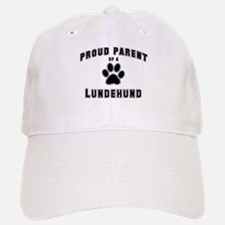 Lundehund: Proud parent Baseball Baseball Cap